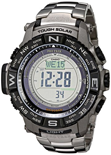 Casio Men's Pro Trek PRW-3500T-7CR Tough Solar...