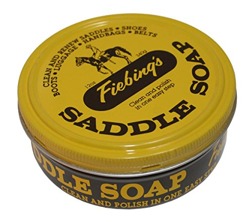 Fiebing's Yellow Saddle Soap, 12 oz - Cleans,...
