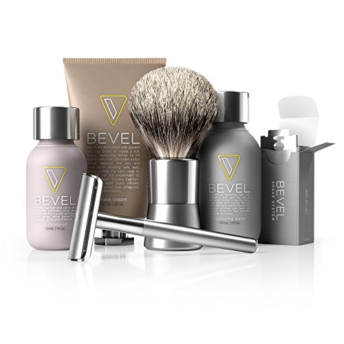 Bevel Shave Kit - Starter Kit, Great as Father's...