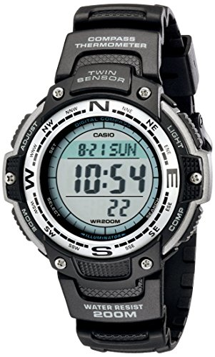 Casio Men's SGW100-1V Twin Sensor Digital Black...