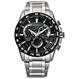 Citizen Men's PCAT Quartz Sport Watch with Titanium Strap, Silver, 24 (Model: CB5908-57E)