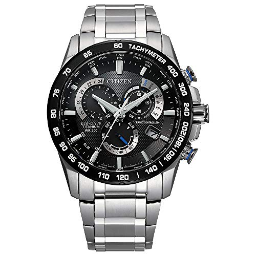 Citizen Men's PCAT Eco-Drive Chronograph Watch in...