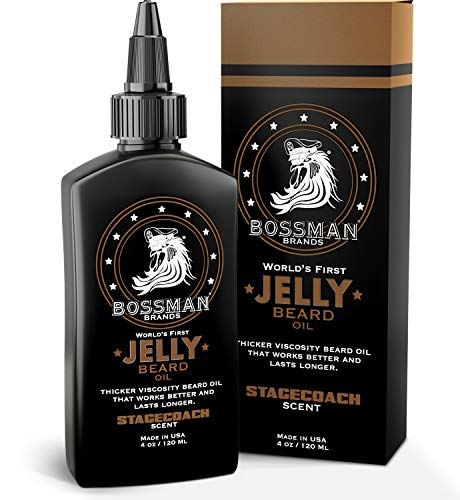 Bossman Beard Oil (4oz) - Thicker Consistency...