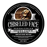 Chiseled Face Ghost Town Barber Shave Soap