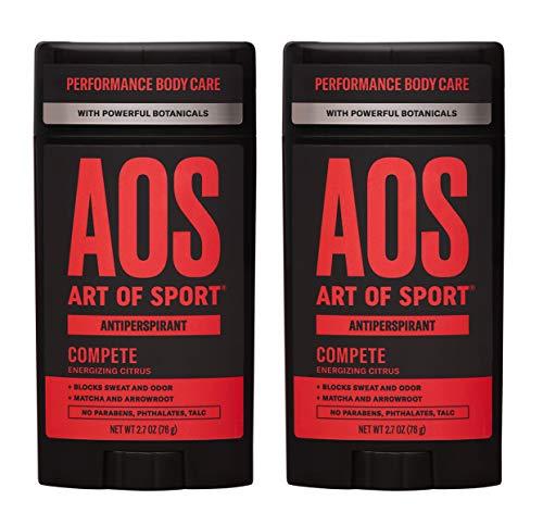 Art of Sport Antiperspirant Compete Scent 2-Pack |...