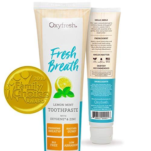 Oxyfresh Maximum Fresh Breath Lemon Mint...