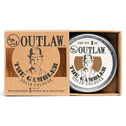Outlaw The Gambler Bourbon-Inspired Solid Cologne...