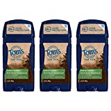 Tom's of Maine 24-Hour Men's Long Lasting Natural Deodorant Multi Pack, Deodorant for Men, Natural Deodorant, North Woods, 2.25 Ounce, 3-Pack
