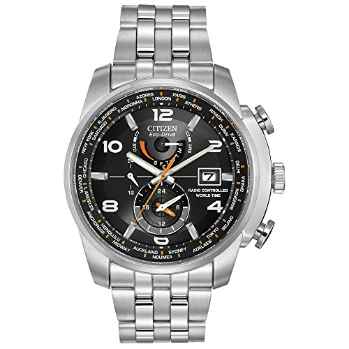 Citizen Men's Eco-Drive World Time Atomic...