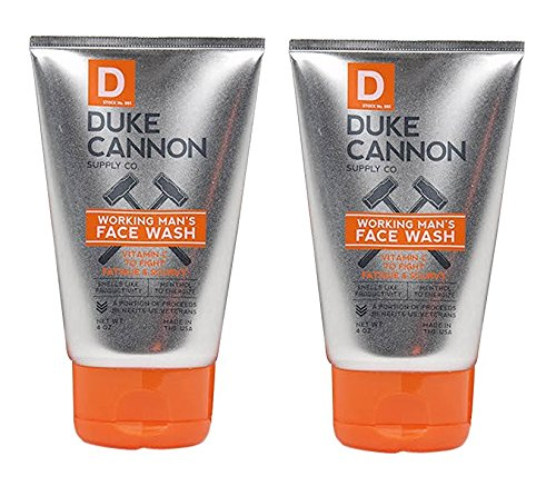 Duke Cannon Working Man's Face Wash for Men, 4...