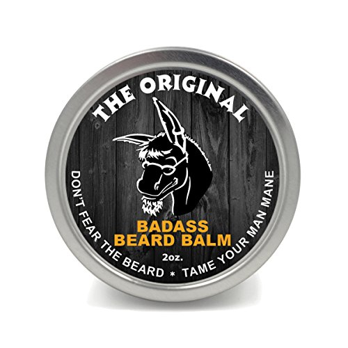 Badass Beard Care Beard Balm For Men - The...