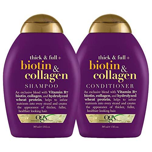 OGX Thick & Full + Biotin & Collagen Shampoo &...