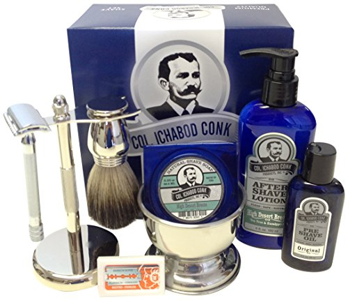 Colonel Conk Complete 8-Piece Shave Kit