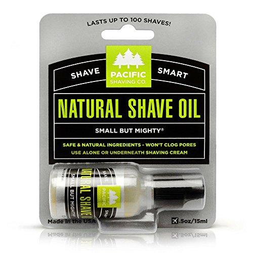 Pacific Shaving Company Natural Shaving Oil -...