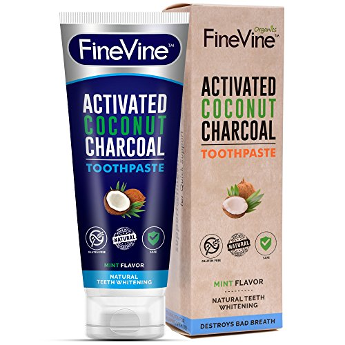 100% Natural Charcoal Teeth Whitening Toothpaste|...