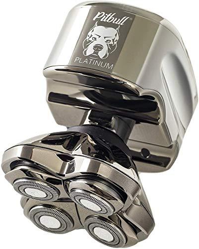 Skull Shaver Pitbull Platinum PRO Electric Razor -...