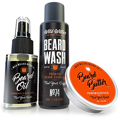 Essential Beard Grooming Kit for Men – USA Made...