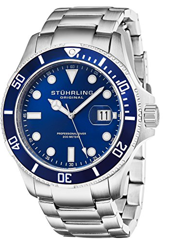 Stuhrling Original Men's 417.03 Aquadiver Regatta...