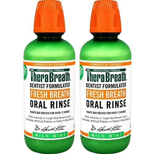 TheraBreath Fresh Breath Oral Rinse, Mild Mint, 16...