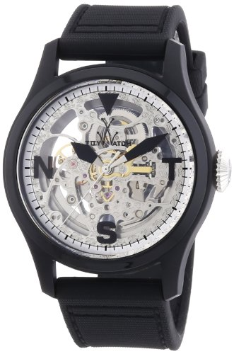 ToyWatch - Toy2Fly - Skeleton Black and Silver