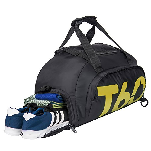 HIKA Multi-function Travel Duffel Bag Gym Sport...