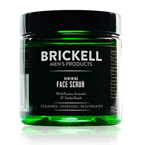 Brickell Men's Renewing Face Scrub for Men,...