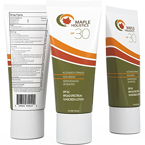 Face And Body Sunscreen Broad Spectrum SPF 30...
