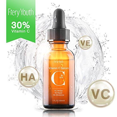 Upgraded 30% Vitamin C Serum with Hyaluronic Acid...