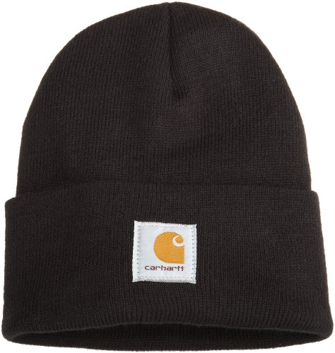 Carhartt Men's Acrylic Watch Hat A18, Black, One...