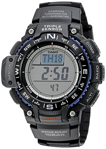Casio Men's SGW-1000-1ACR Triple Sensor Digital...
