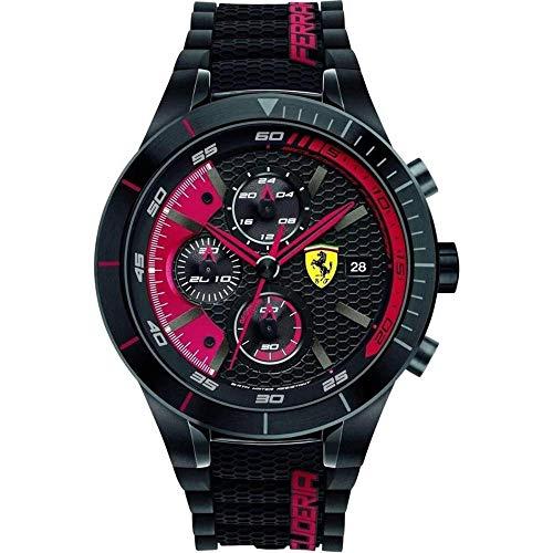 Ferrari Men's 0830260 REDREV EVO Analog Display...