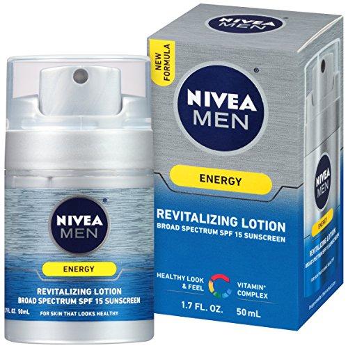 NIVEA Men Energy Lotion Broad Spectrum SPF 15...