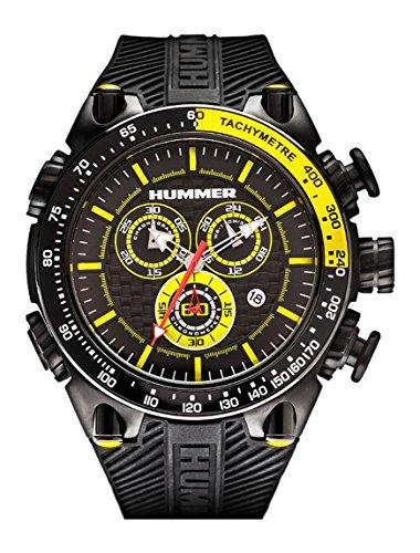 Hummer Pilot Chronograph Watch HU1100-102 Black...