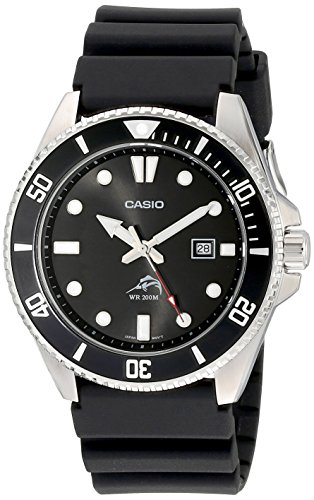 Casio Men's MDV106-1AV 200M Duro Analog Watch,...