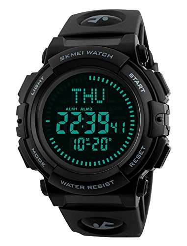 Men's Military Sports Digital Watch with...
