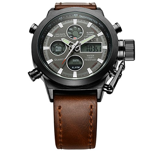 Affute Amry Military Sports Men's Watches PU...