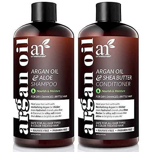 Artnaturals Moroccan Argan Oil Shampoo and...