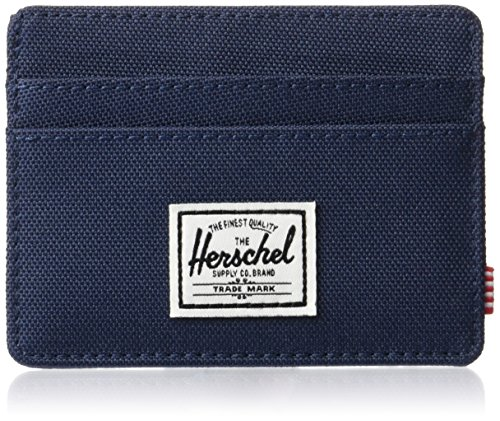 Herschel Men's Charlie RFID Wallet, Navy, One Size