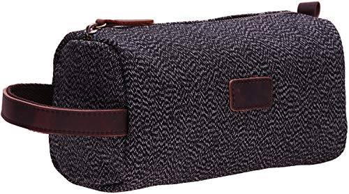 Iblue Canvas Travel Toiletry Organizer Shaving...