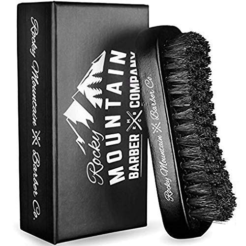 Men's Hair Brush- 100% Pure Black Boar Hair...