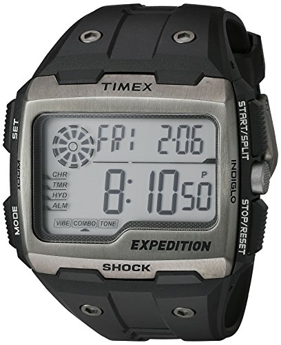 Timex Men's TW4B02500 Expedition Grid Shock Black...