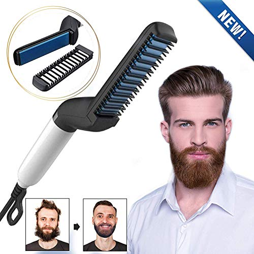 WORD GX  Electric Beard Straightener for Men -...