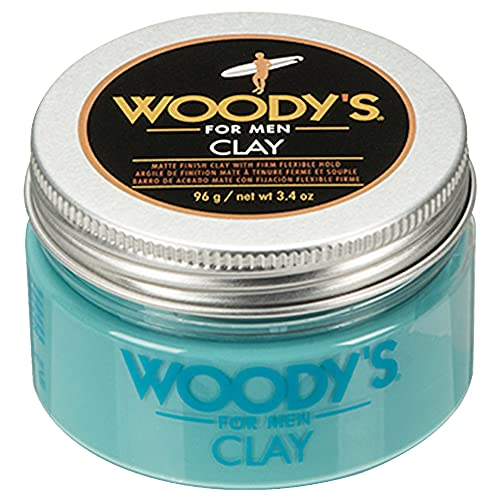 Woody's Clay for Men, Matte Finish with Firm and...