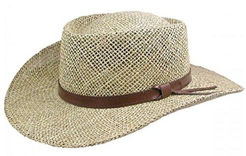Stetson Gambler Seagrass Outdoorsman...