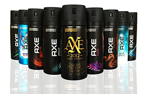 AXE Body Spray MIX within available kind ( Pack of...