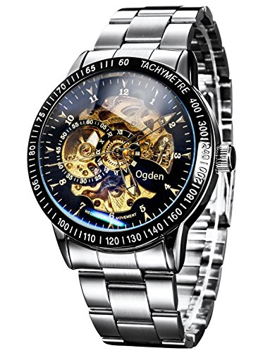 Carrie Hughes Men's Steampunk Automatic Watch...