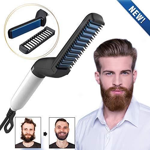 WORD GX  Electric Beard Straightener for Men -...