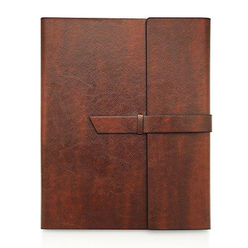 Gallaway Leather Padfolio Portfolio Folder –...