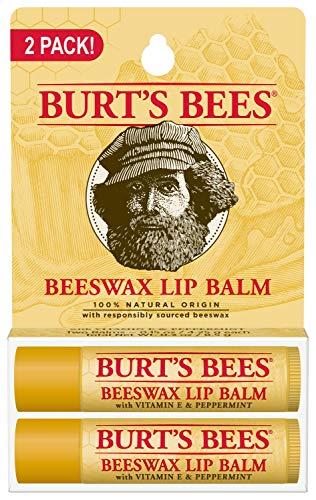 Burt's Bees 100% Natural Moisturizing Lip Balm,...