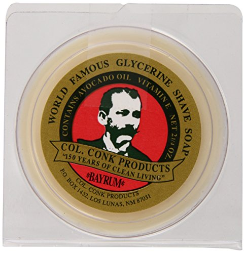 Col. Conk Worlds Famous Shaving Soap, Bay Rum (Net...